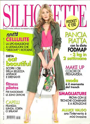 Centro Onze rivista silhouette donna pilates marzo 2017
