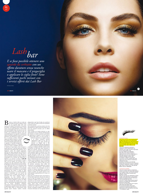 rÊves beauty, portfolio LashDream LashBar