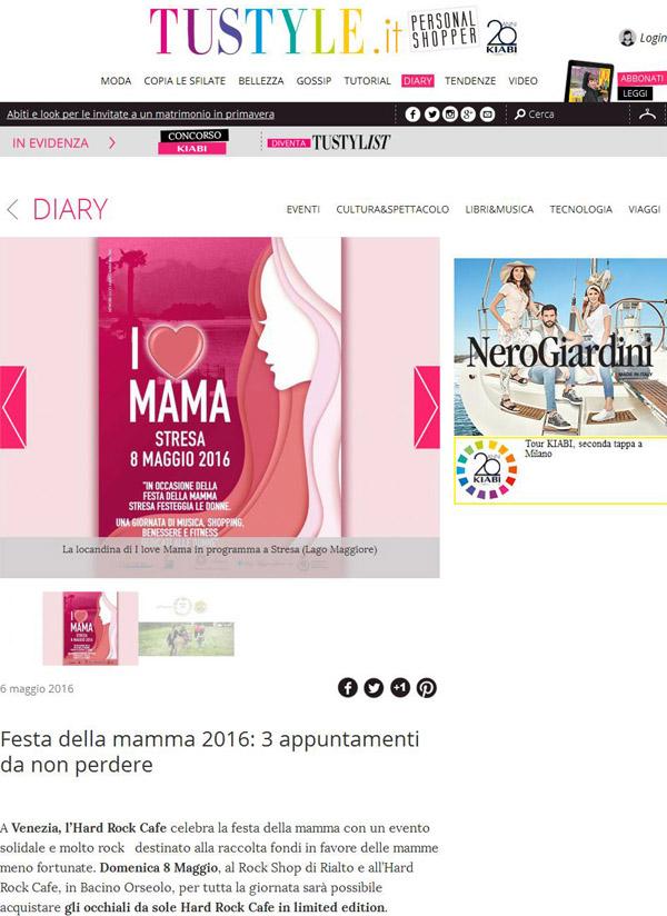 Tu Style web, Portfolio Stresa a 360, Eleonora Tosco ufficio stampa