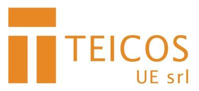 Logo Teicos UE - Eleonora Tosco comunicazione